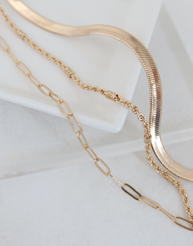 Amberley Layered Chain Necklace
