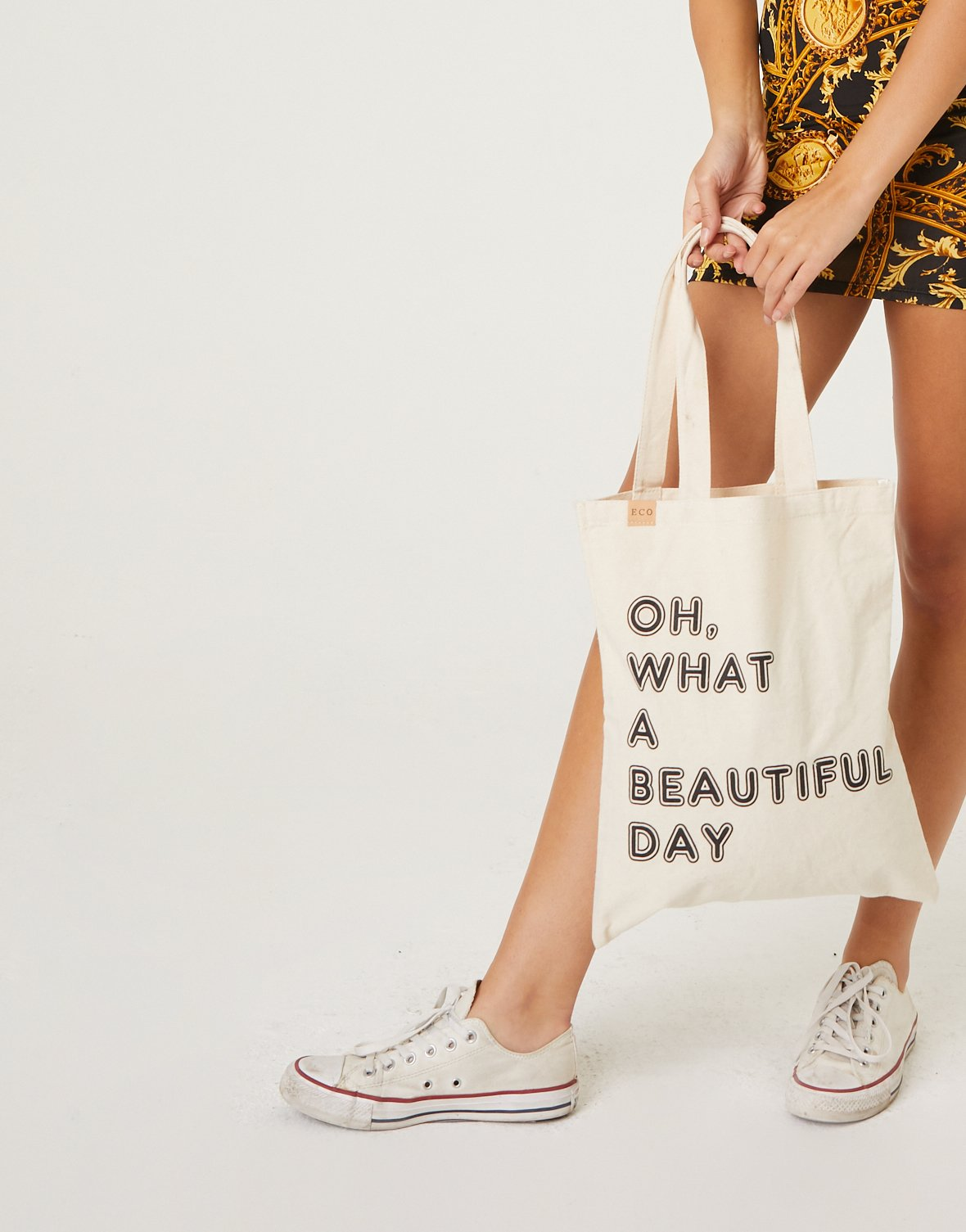 Beautiful Day Canvas Tote