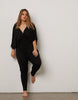 Curve Draping Jumpsuit