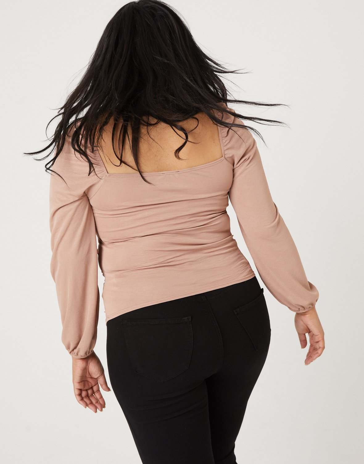 Curve Double Ruched Top