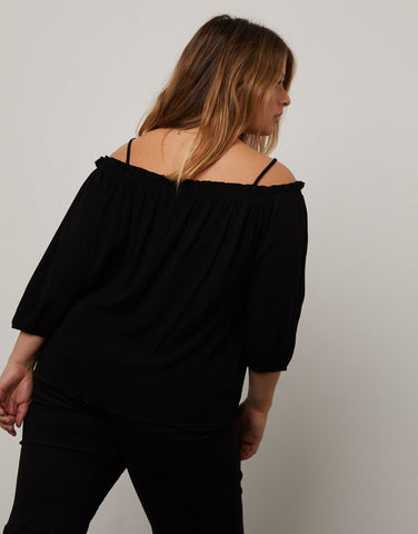 Curve Off the Shoulder Top