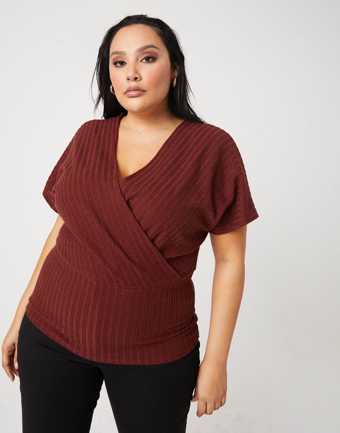 Curve Full-Length Wrap Top