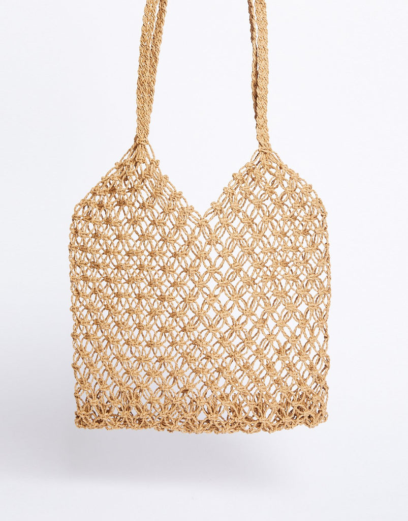 Dream Catcher Woven Tote Bag
