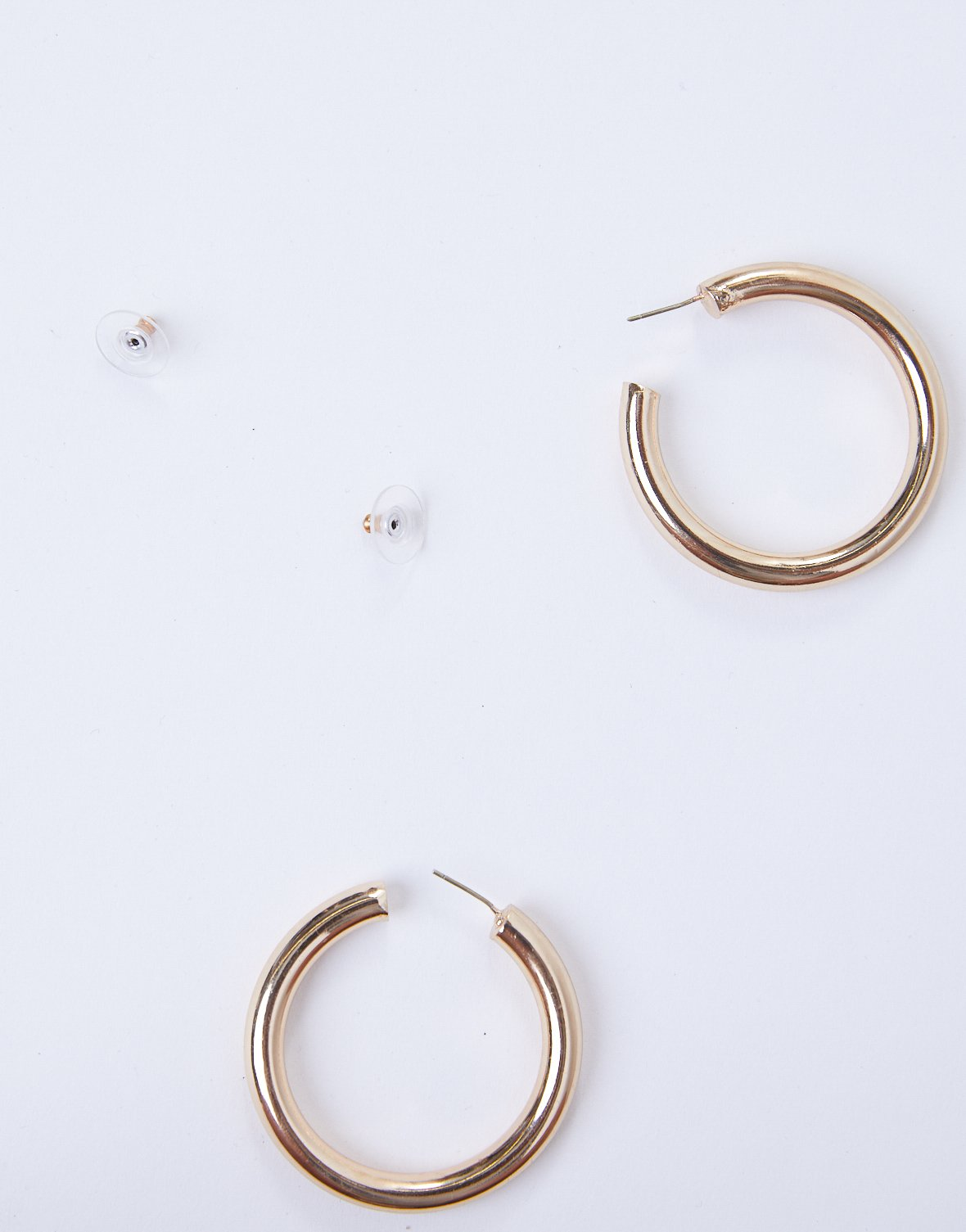Inner Circle Hoop Earrings