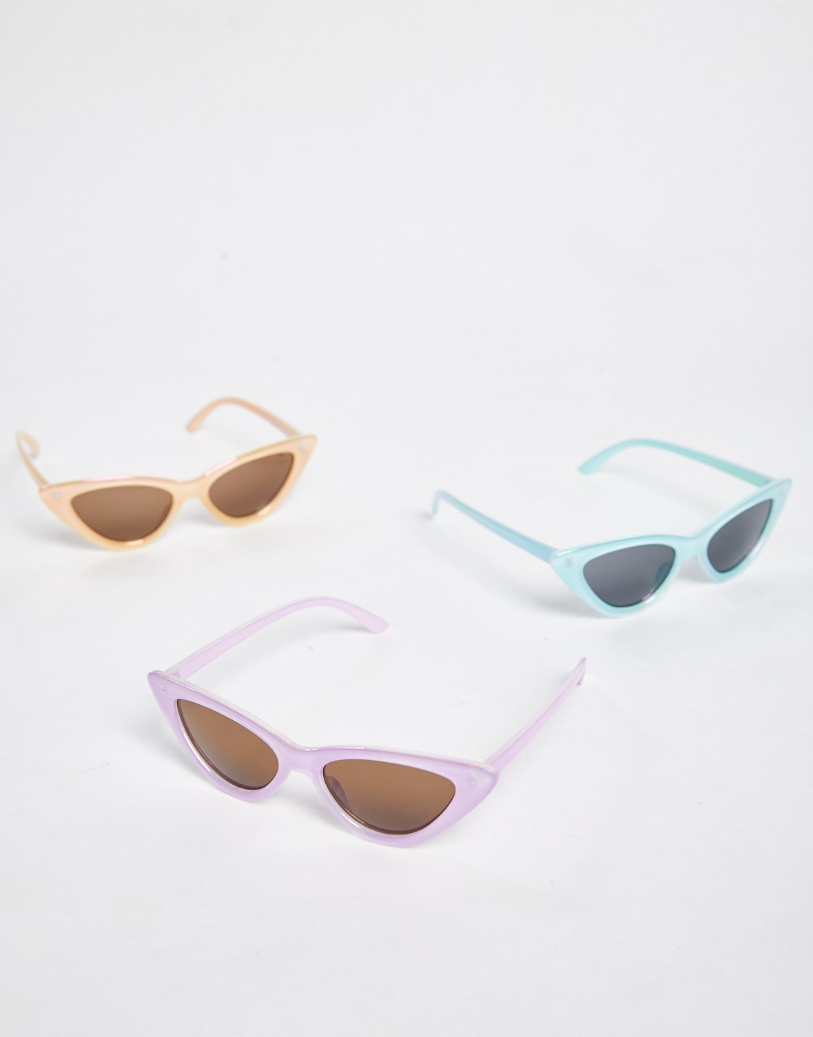Iridescent Cat Eye Sunglasses