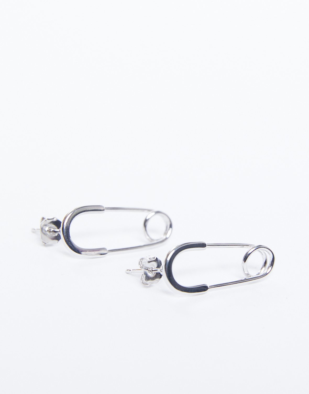 Pin Me Up! Safety Pin Earrings