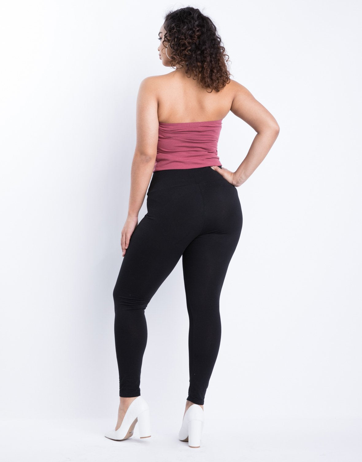 Curve Simple Stretch Leggings