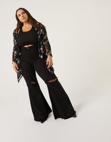 Curve Arielle Sheer Cardigan