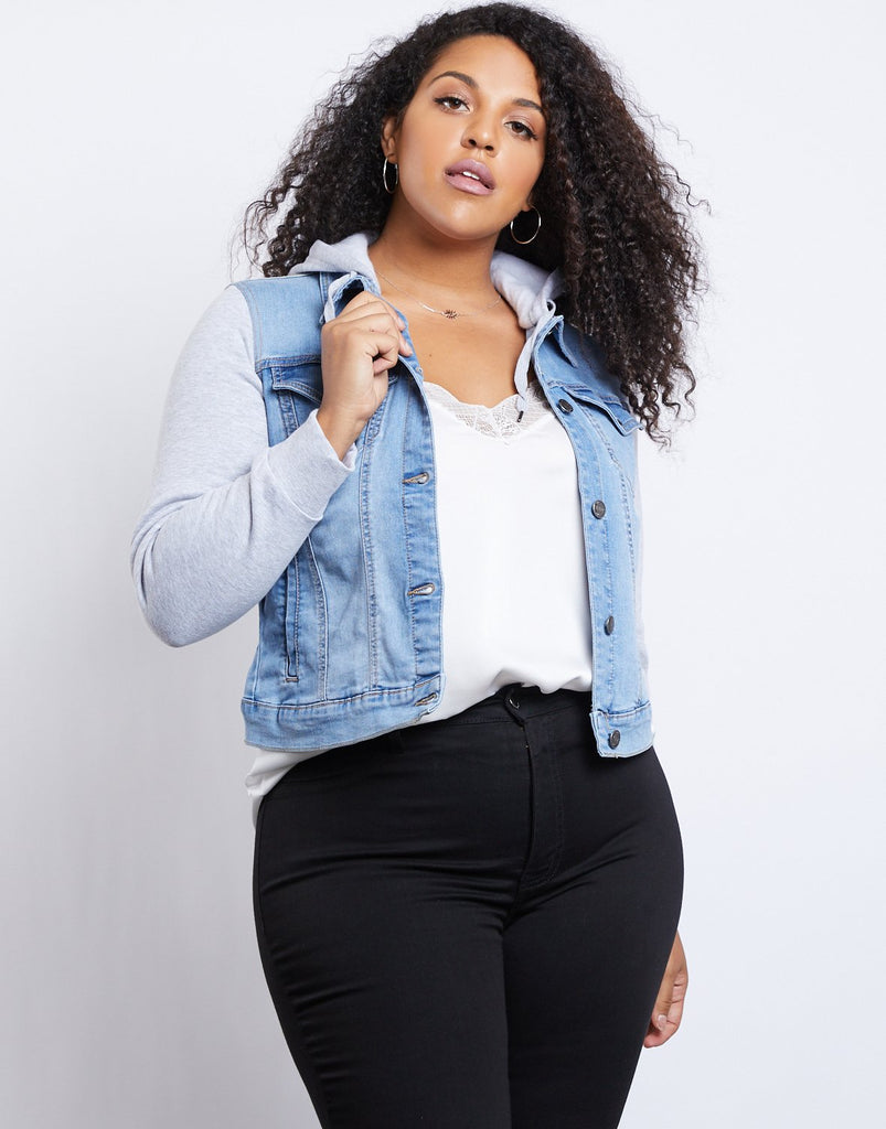 Curve City Girl Denim Jacket