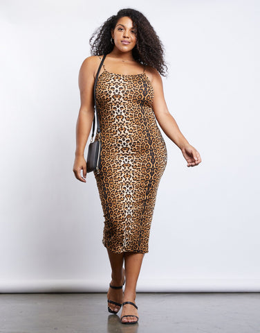 Curve Leo Bodycon Dress