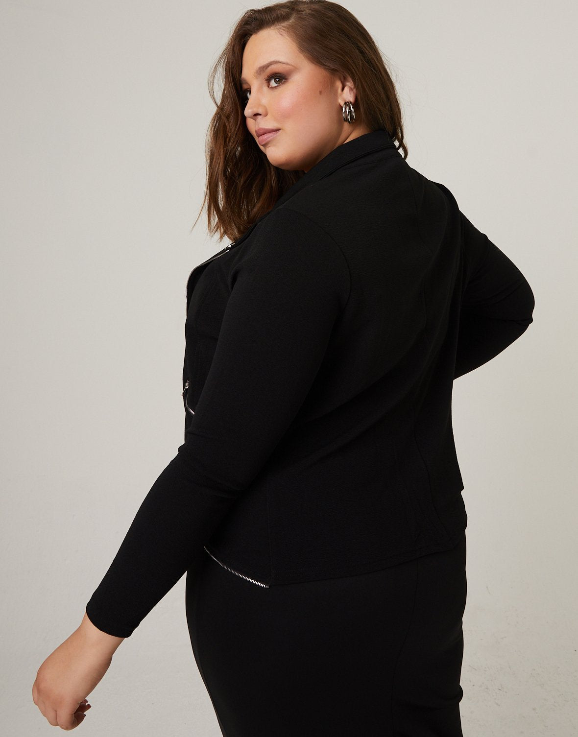 Curve Lightweight Zip Up Jacket