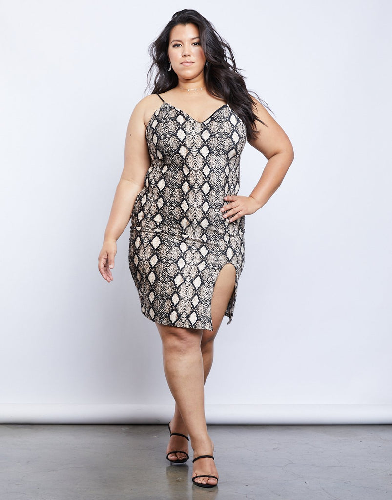 Curve Medusa Dress