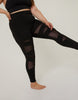 Curve Mesh Cutout Leggings