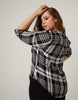 Curve Rory Plaid Top