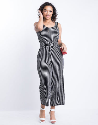 Curve Down The Line Jumpsuit