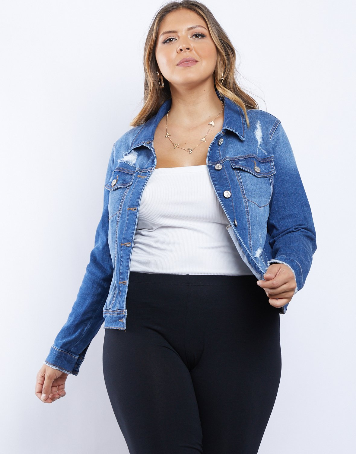Curve Dreamy Denim Jacket