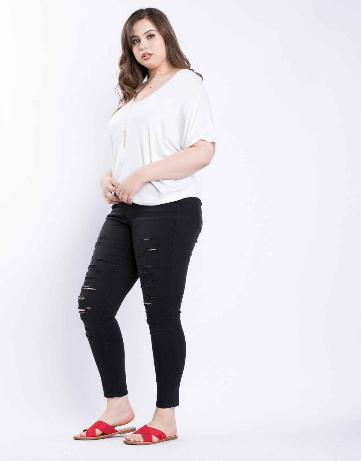 Curve Basic Everyday Top