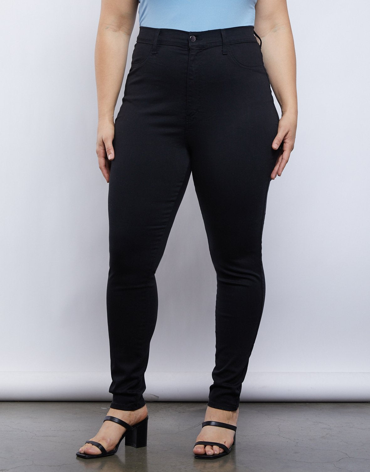 Curve High Rise Jeans