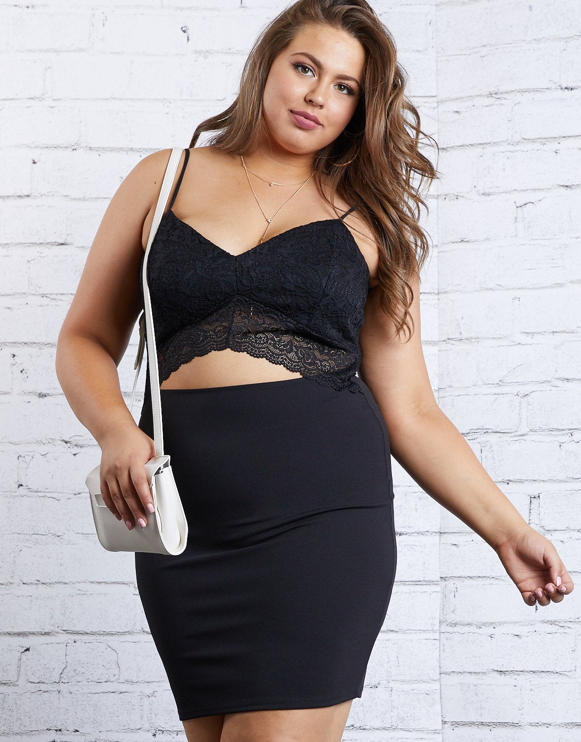 Curve Kailyn Open Front Dress