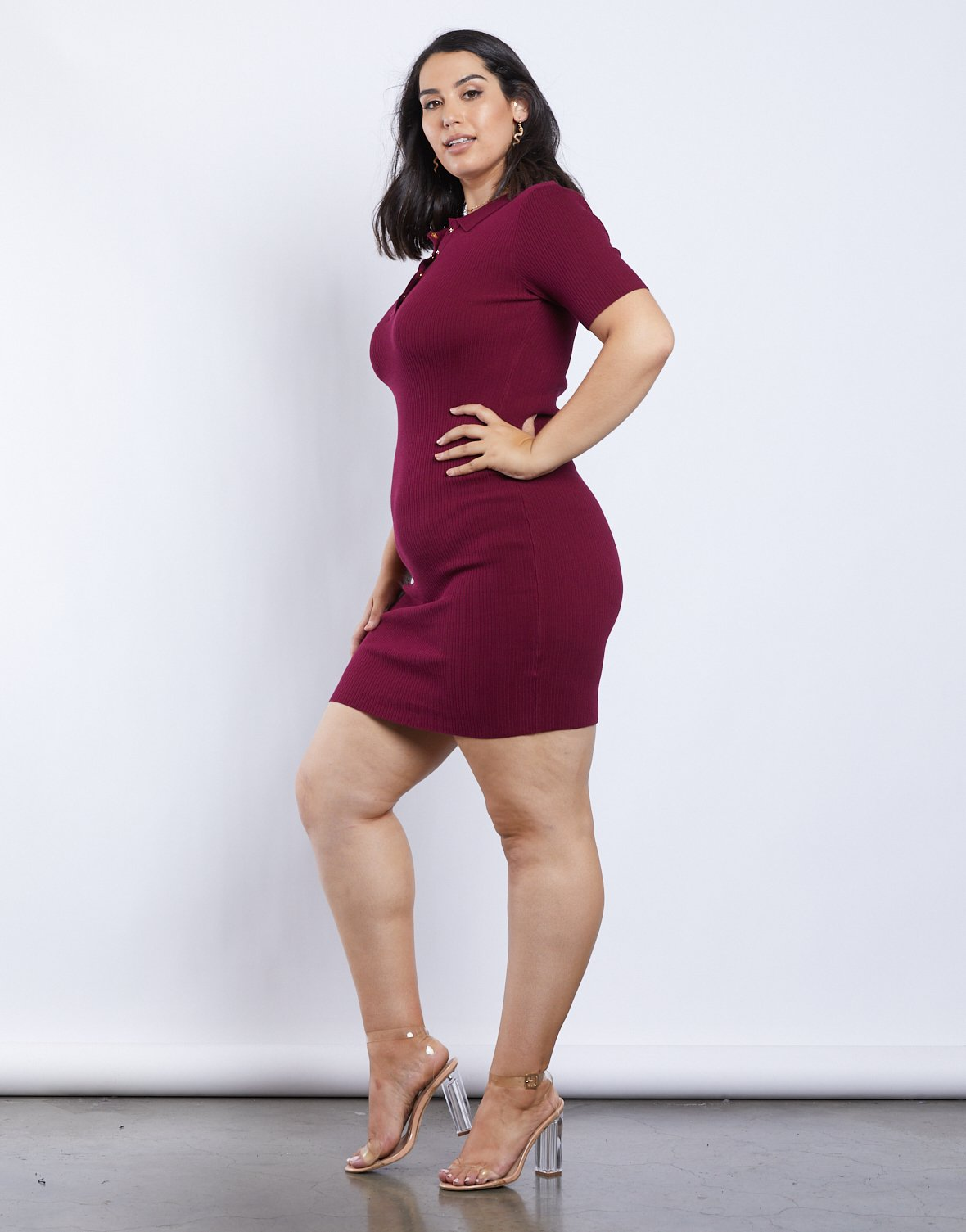 Curve Polo Dress