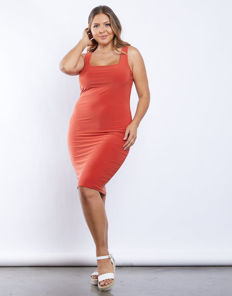 Curve Simple As That Bodycon Dress