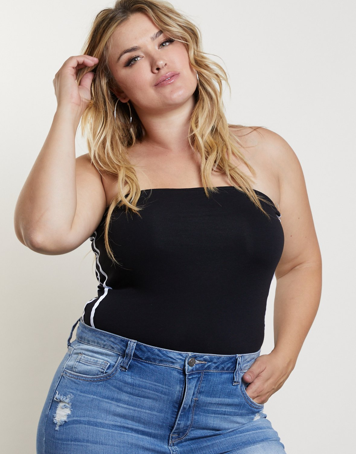 Curve Sporty Tube Top