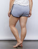 Curve Striped Sporty Shorts