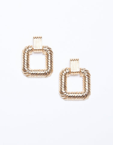 Statement Door Knocker Earrings