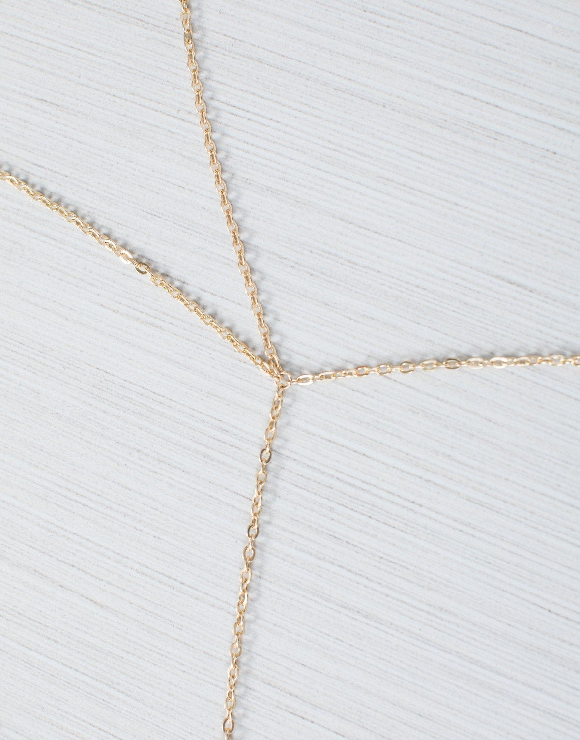 8db54c0e8a5cb Gold Caged in Body Chain - Front View  Caged in Body Chain ...
