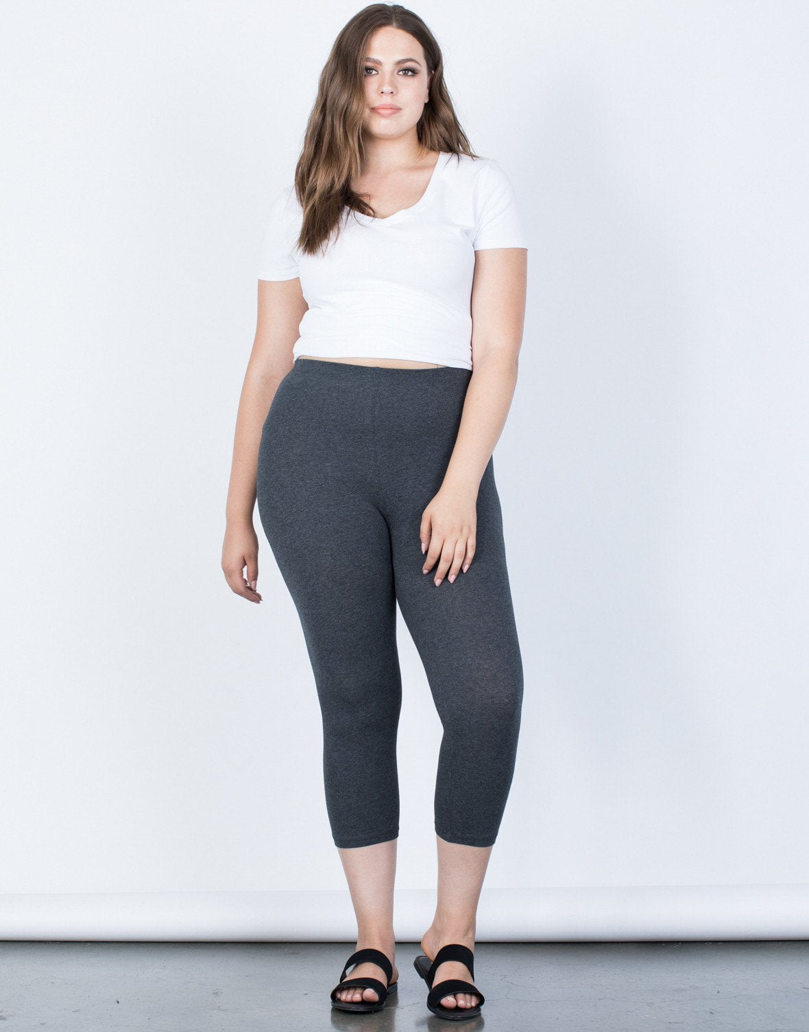 3803fee7be7 Plus Size Daily Comfy Leggings – Roses Fashion Online