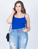 Plus Size Must-Have Cami Tank - 2020AVE