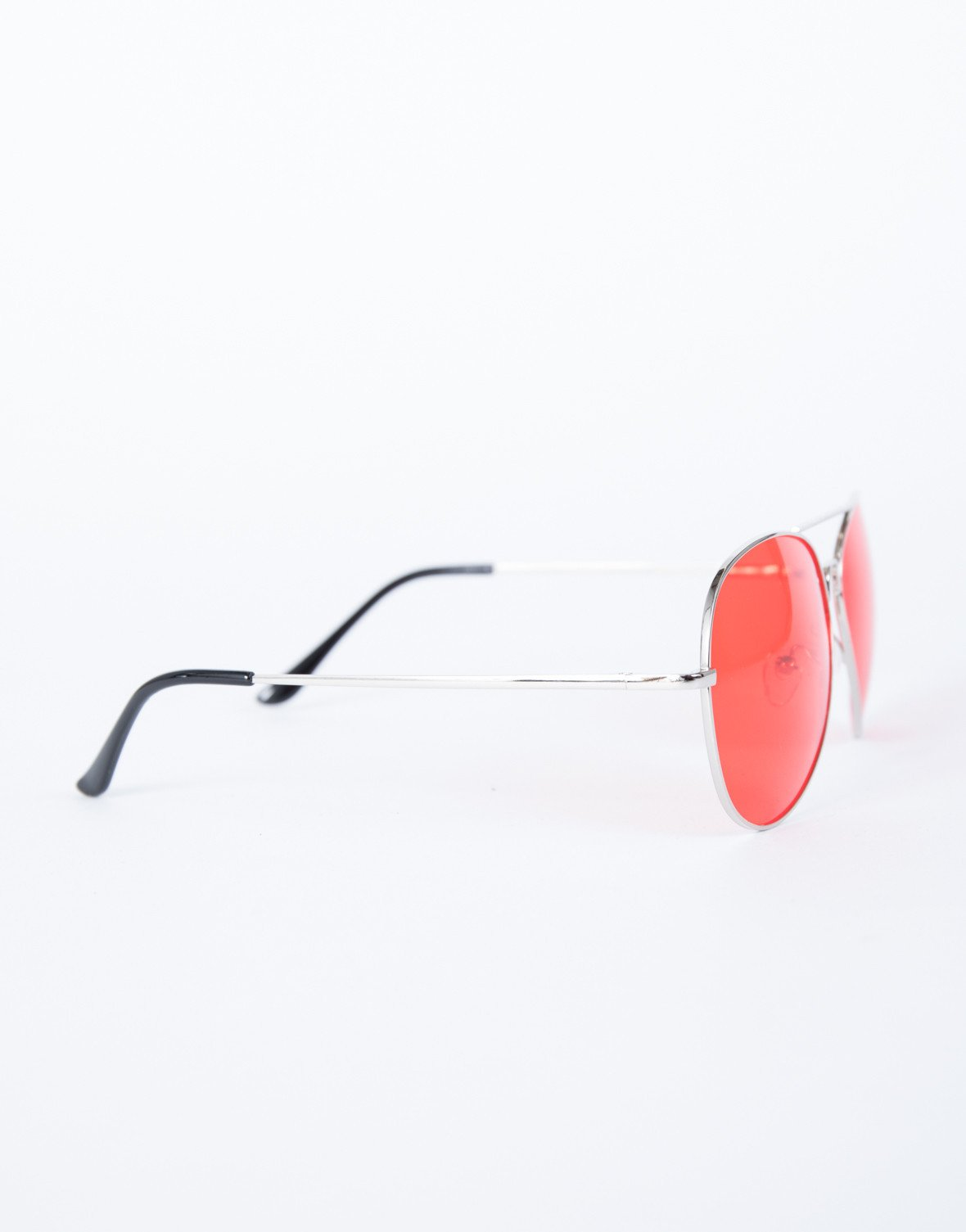 Red Warm Days Sunnies - Side VIew