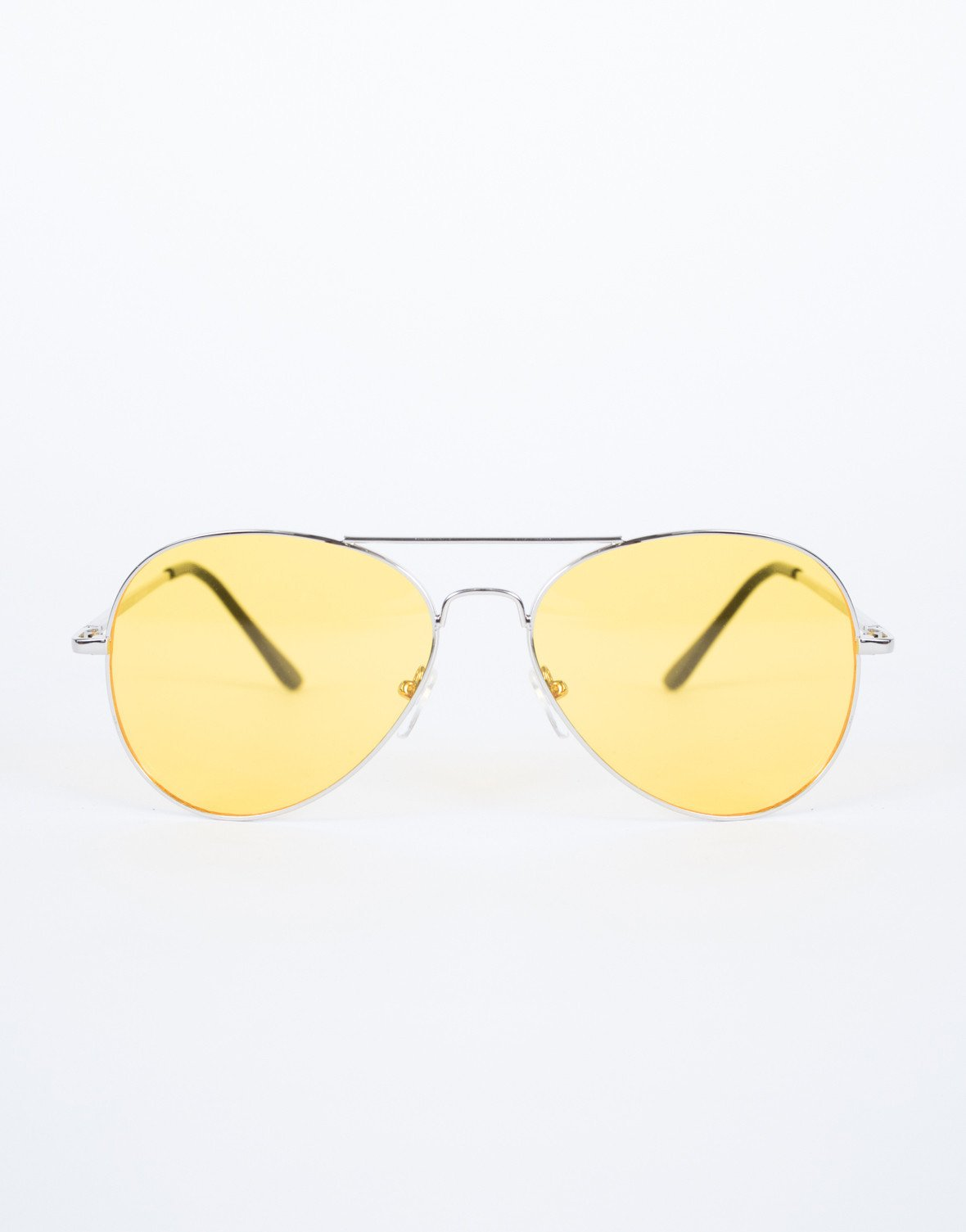 Yellow Warm Days Sunnies - Front View