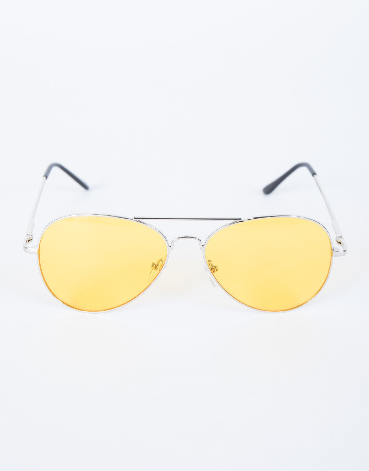 Yellow Warm Days Sunnies - Top View