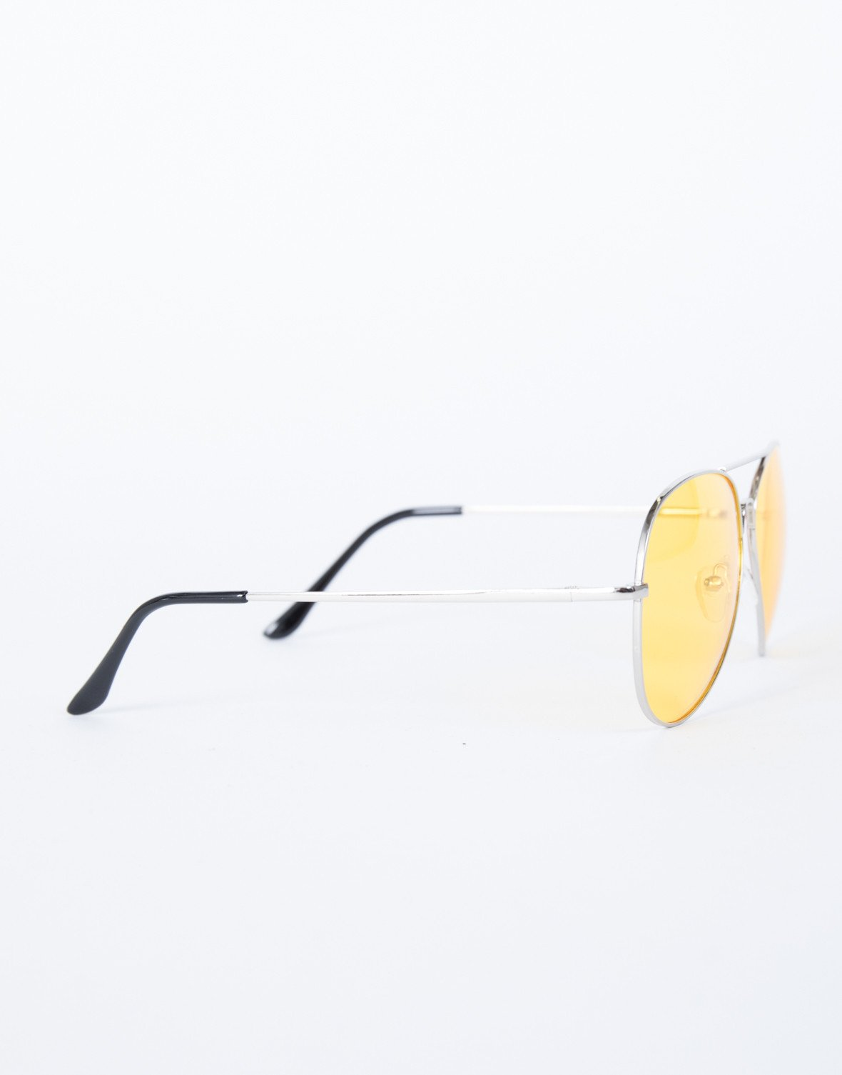 Yellow Warm Days Sunnies - Side VIew