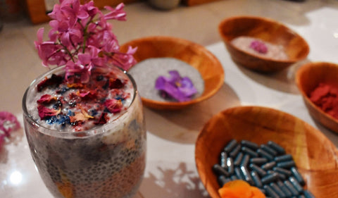 How to UNICORN Your Chia Pudding (Or Anything Edible...With These 2 Epic Superfood Powders)