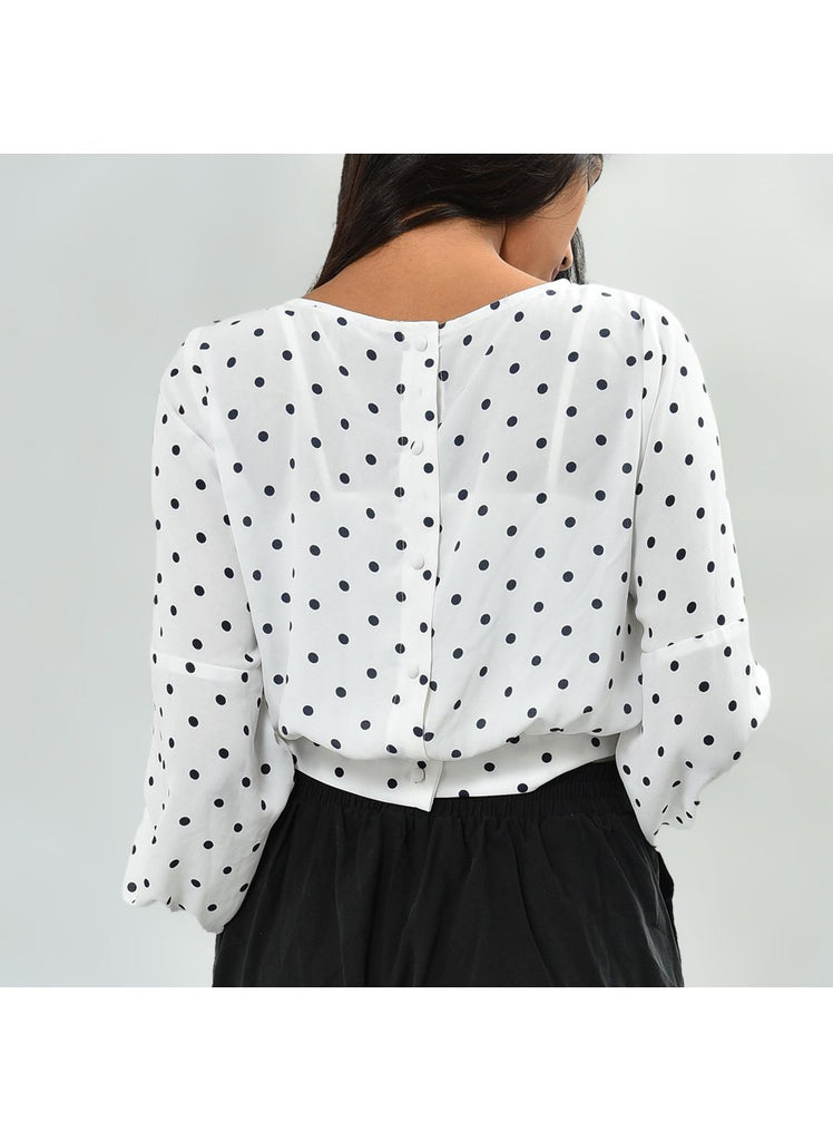 Mila Polka Dot Top