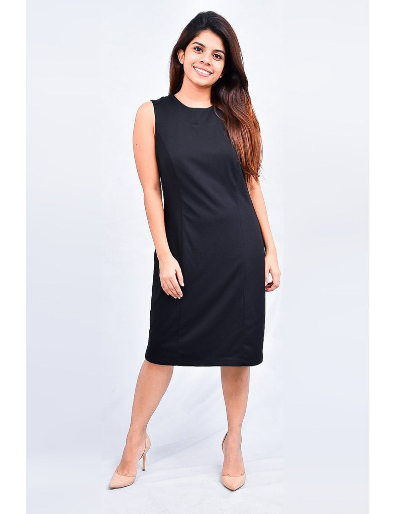 Megan Black Dress