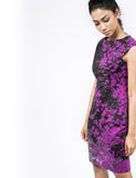 Gorgeous Purple Floral Dress