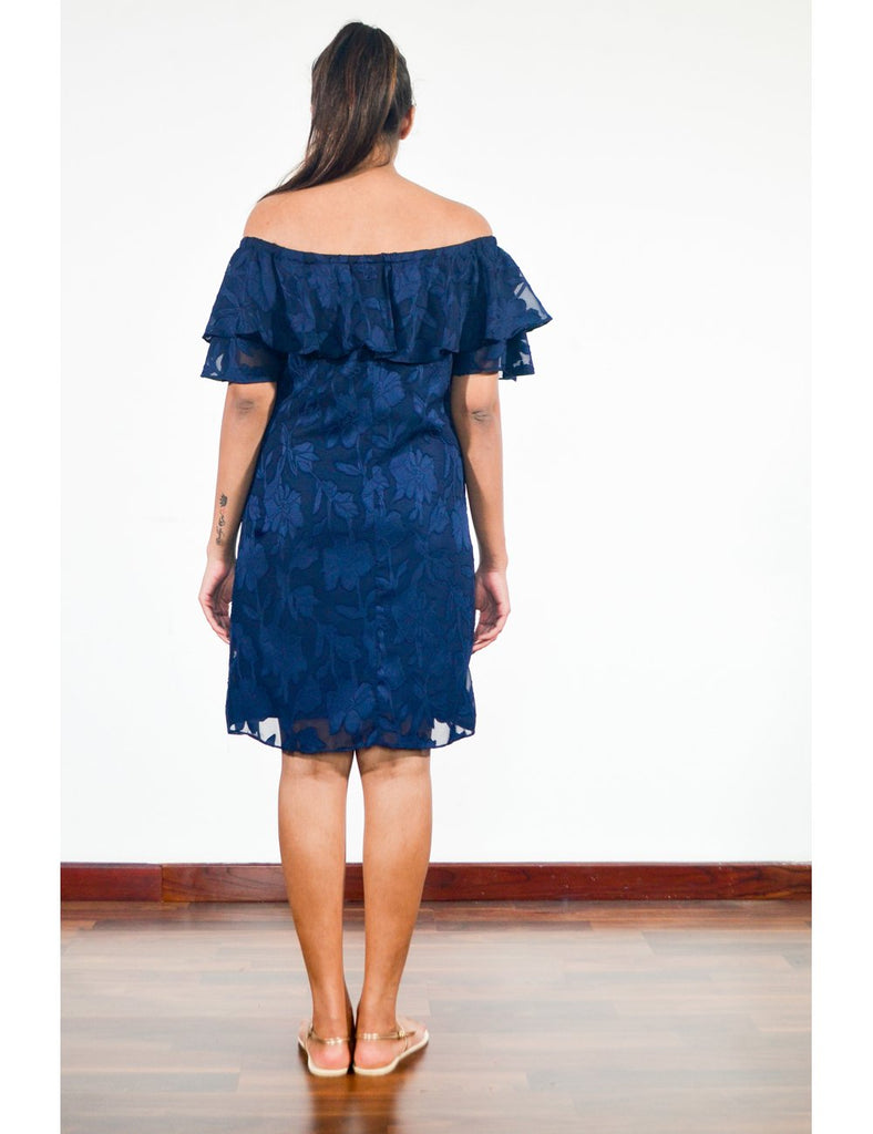 All About The Blue Lace Dress