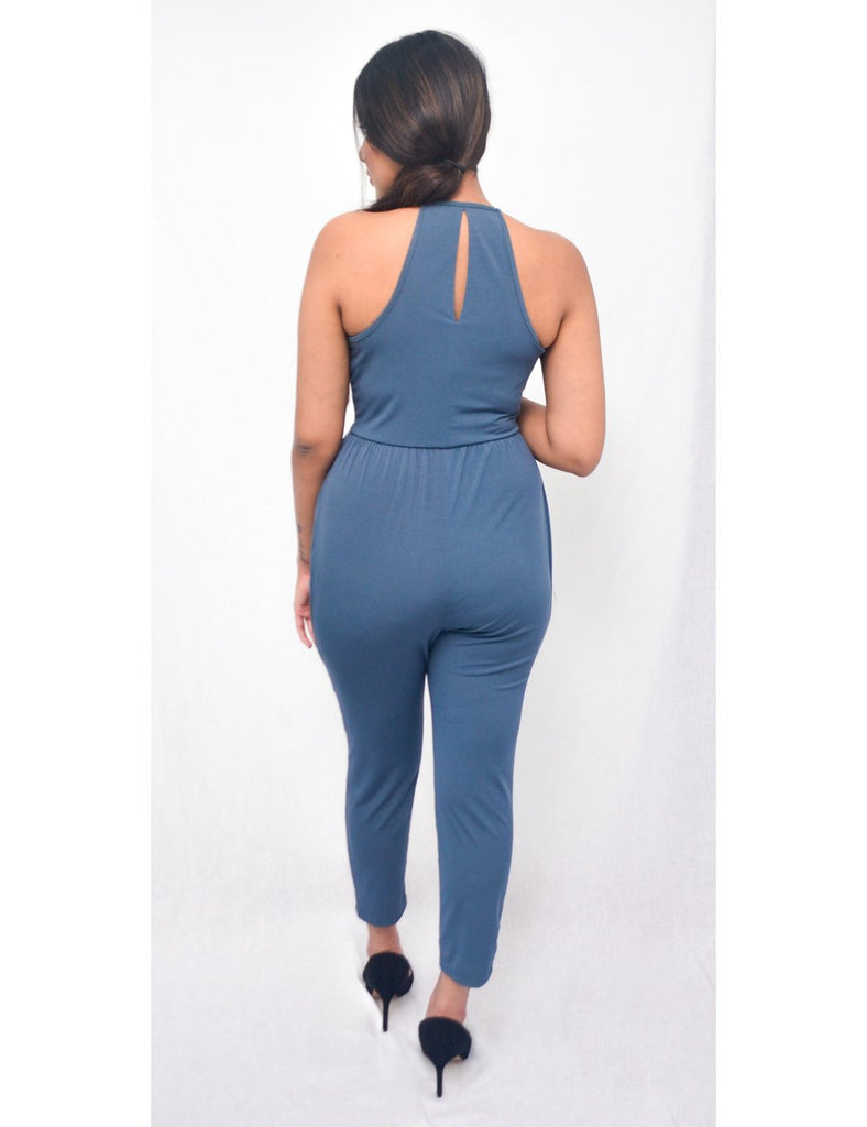 Blue Angela Jumpsuit