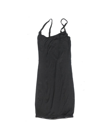 Plain Black Long Nightwear