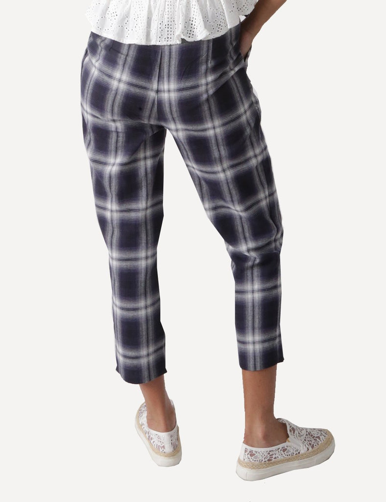 Eliza Checkered Pants