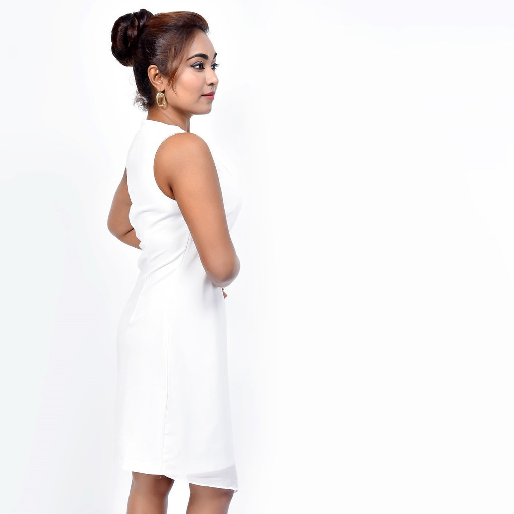 White chic Dress