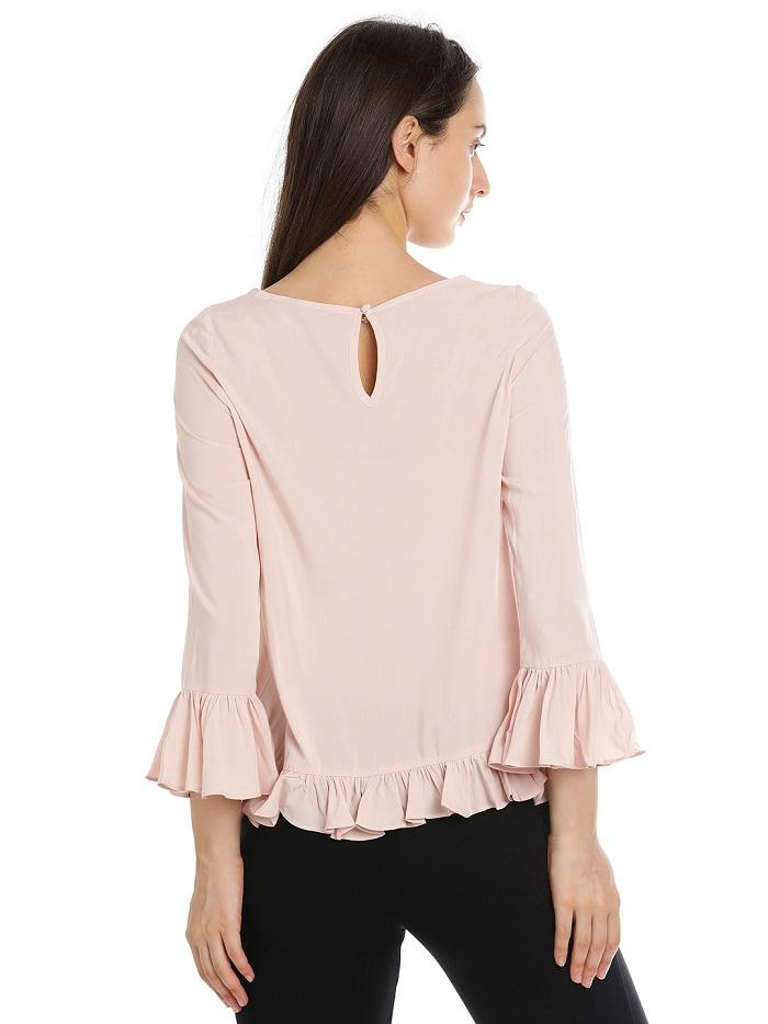 Linda Frilled Top