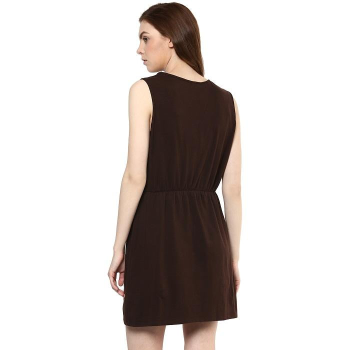 Solid Brown Tunic