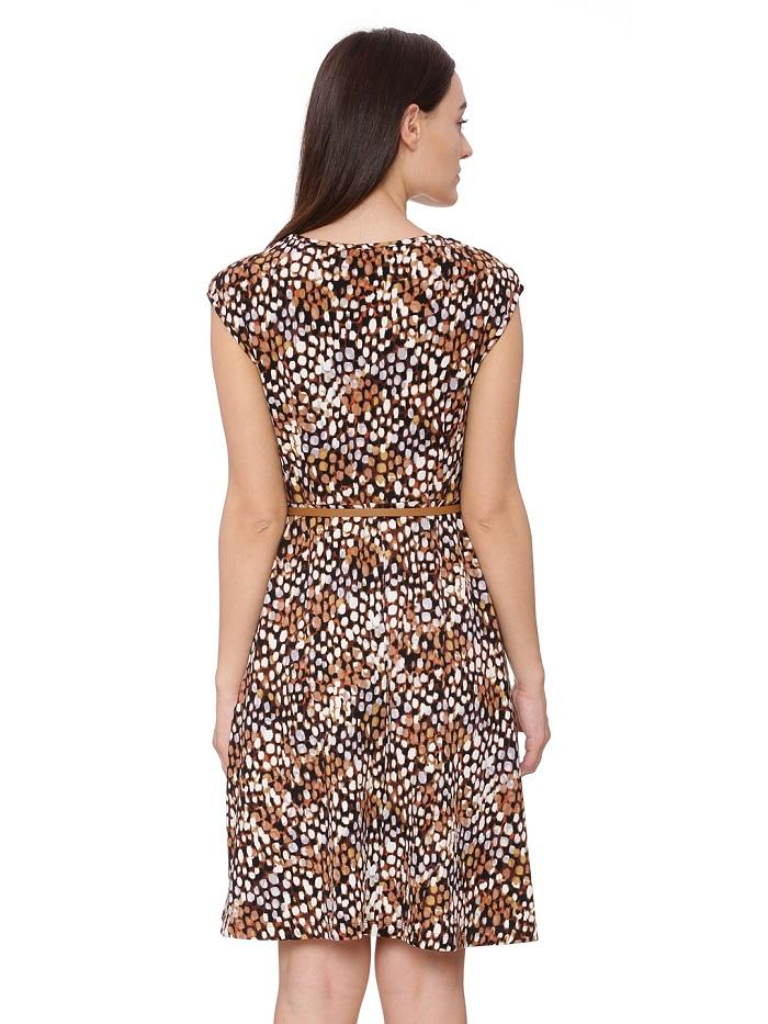 Sophia Printed Skater Dress
