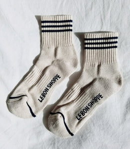 Girlfriend Socks -Oatmeal