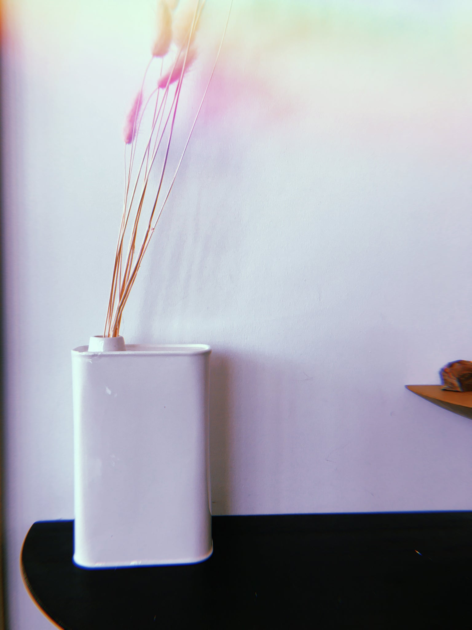 Oil Can Shaped Flower Vase