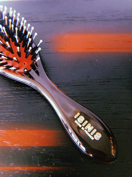 Isinis Boar bristle + Nylon Hair Brush